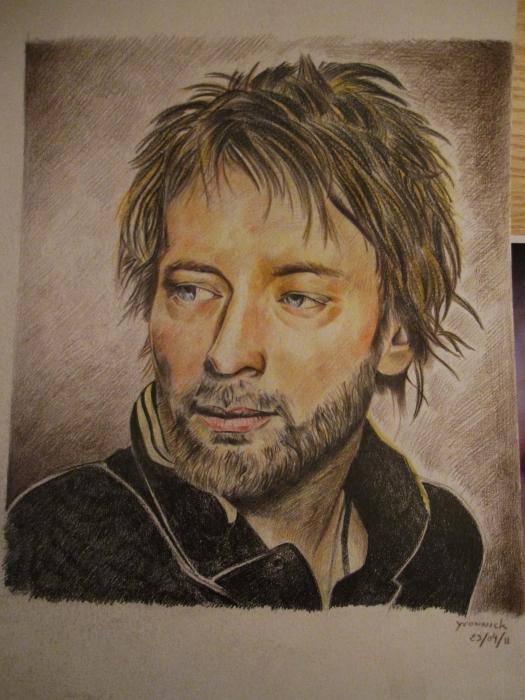 Thom Yorke by yvonnick